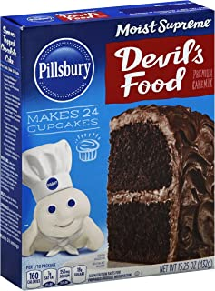Pillsbury Moist Supreme Premium Cake Mix, Devil's Food, 15.25 oz