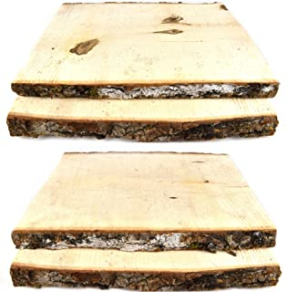 raw wood plaques