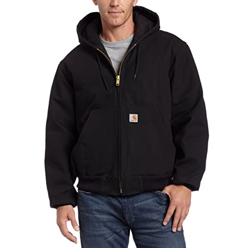 2d56adfe22 Carhartt Men's Quilted Flannel Lined Duck Active Jacket