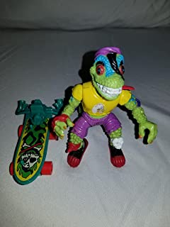 Vintage Mondo Gecko Variant (Red Knee Pad) (1990) Action Figure - Playmates - TMNT - Teenage Mutant Ninja Turtles Collectible Figure - Loose Out of Package & Print (OOP)