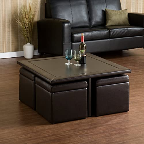Coffee Table With Storage Cubes.Cube Coffee Table Amazon Com