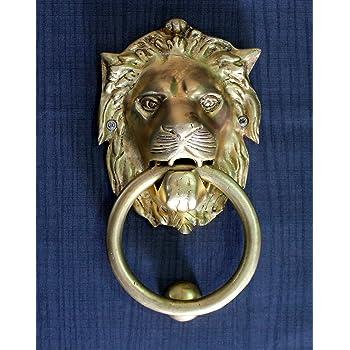 accessoires de porte heurtoir de porte stonkraft home collection 6 pouces heurtoir de porte en laiton lion belle porte