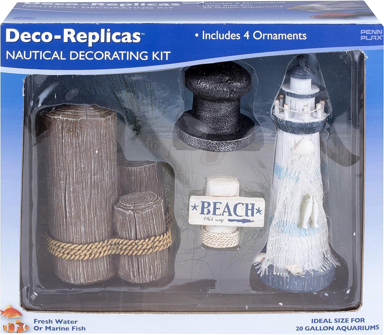 Penn-Plax Deco-Replicas: Complete Decorating Kit for Your Aquarium