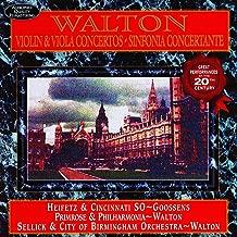 Walton: Violin Concerto in b minor (original version); Viola Concerto in a minor; Sinfonia Concertante for Orchestra with Piano Obbligato (r