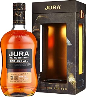 Jura 20 Years Old One And All Limited Edition mit Geschenkverpackung 1 x 0.7 l