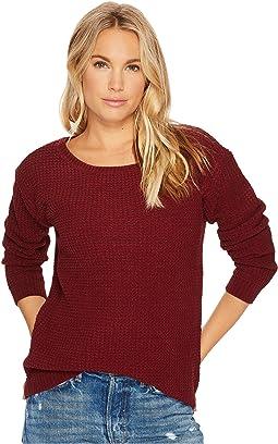 Eugene Waffle Knit Sweater