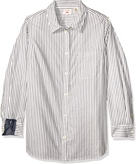 Levi's Women's Plus Size Ryan Button Back Shirt