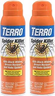 Terro 16 oz. Spider Killer Aerosol Spray - 2 Spray Bottles T2302-2