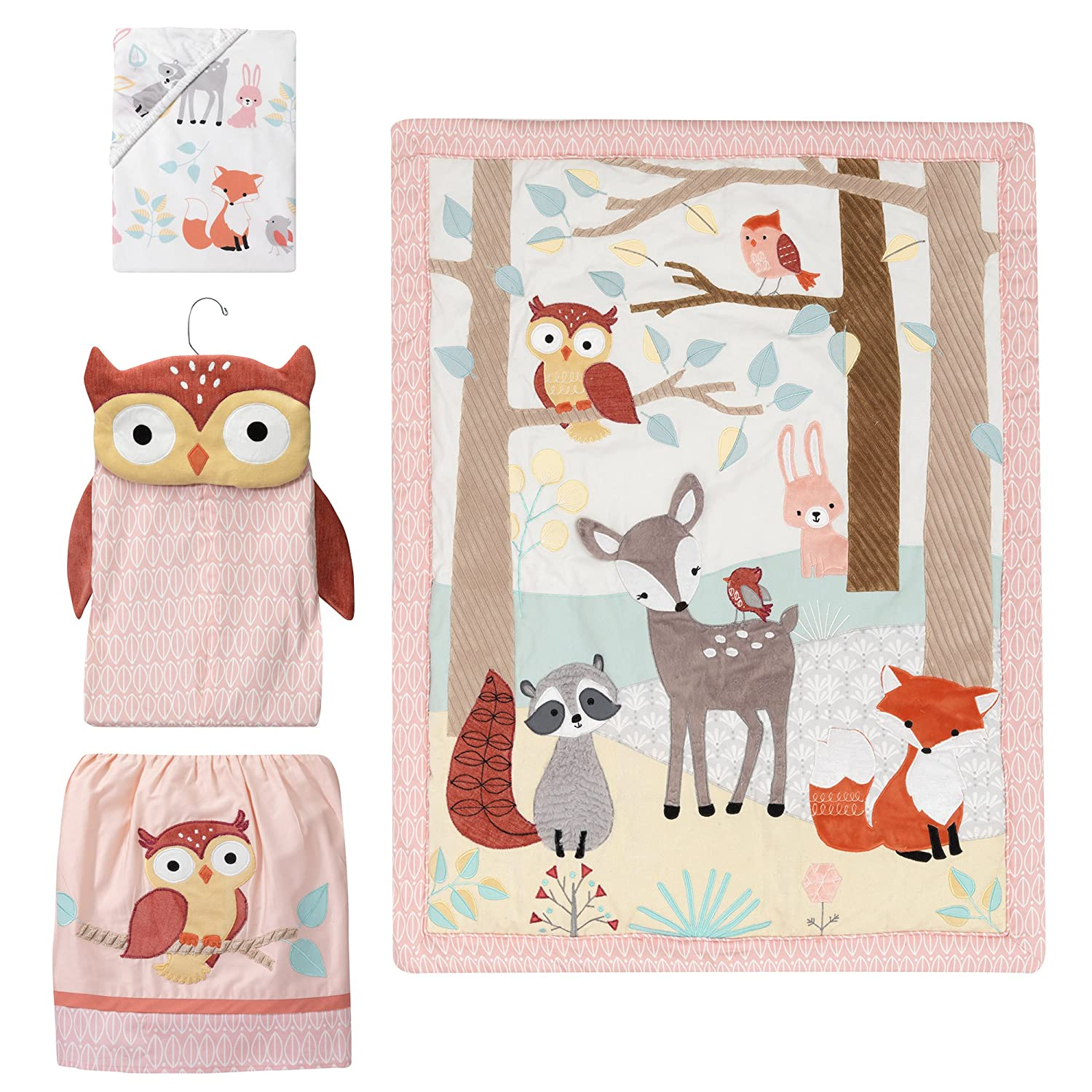 Ranking TOP12 Lambs Ranking TOP16 Ivy Little Woodland Forest Crib 4 Piece Animals Bedding