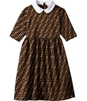 Fendi Kids - Logo Dress (Big Kids)