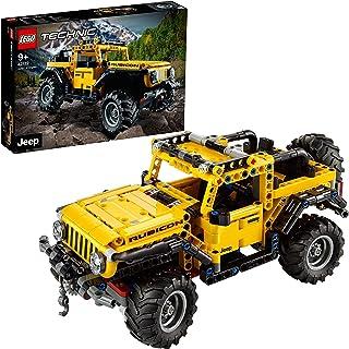 LEGO 42122 Technic Jeep Wrangler 4x4 Toy Car
