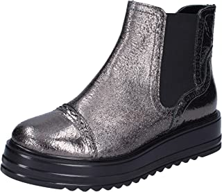 PHIL GATIER by REPO Boots Womens Leather Grey