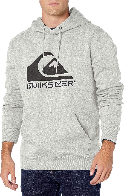 Quiksilver mens Square Me Up Screen Fleece