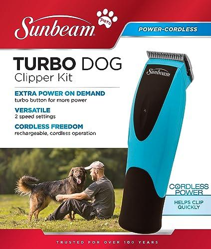 discount Sunbeam sale 078522-010-001 Turbo Dog wholesale Clipper Kit online