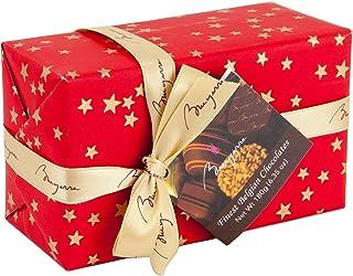 Finest Belgium Chocolate Collection | Milk Dark Chocolate Filled with Gianduja Coconut creme Hazelnut Praline Nougat Truff...