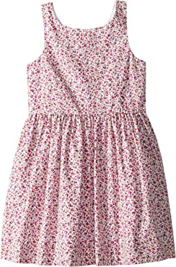 Floral Fit-and-Flare Dress (Little Kids)