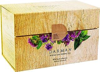 Armenian Herbal Tea Mountain Herbs 4 Flavors 20 g Each 80 g - Organic Tea Selection Gift Box   Perfect Tea Gift   Selectio...