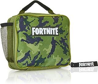 comprar comparacion Fortnite Bolsa para El Almuerzo, Diseño Color Verde, Mochila para Llevar Comida para Fans De los Videojuegos, Trabajo Cole...
