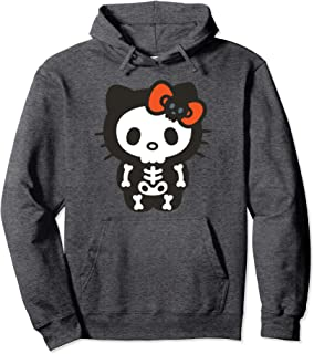 Hello Kitty Skeleton Halloween Hoodie
