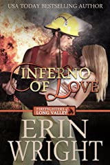 Inferno of Love: A Fireman Western Romance Novel (Firefighters of Long Valley Romance Book 2) Kindle Edition