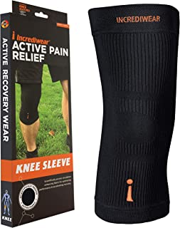 Incrediwear Knee Sleeve, X-Large, Black