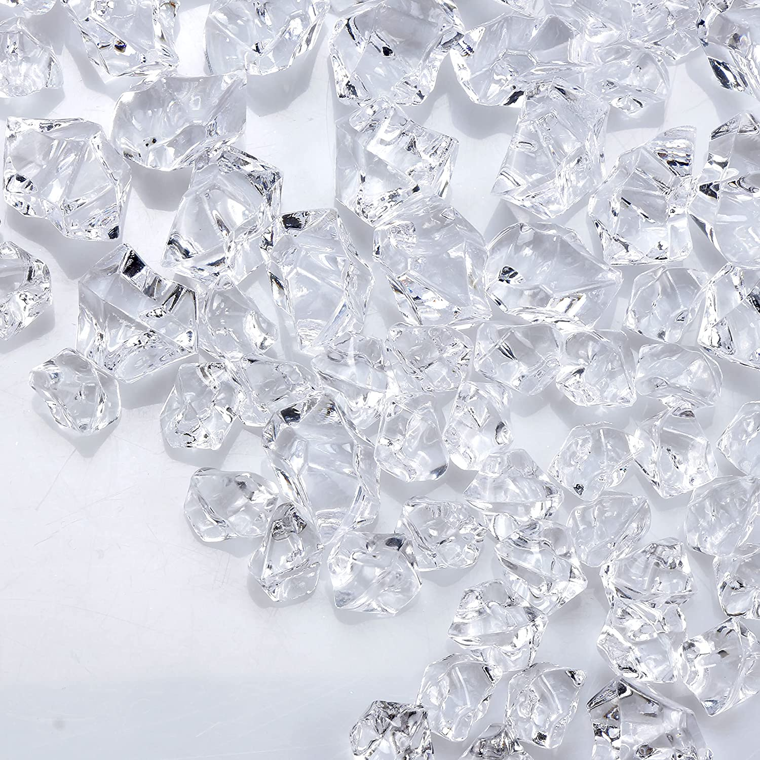 Bymore 1200 Pieces Clear Fake Limited Special Price Ice - Diamond 4.9 Crysta Rocks Lbs Special Campaign