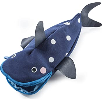 Donkey Products - Hello Tuna | Schöne stifteverschlingende Federtasche in Thunfisch-Form | Cooles Geschenk für Jungen und Mädchen zum Schulanfang