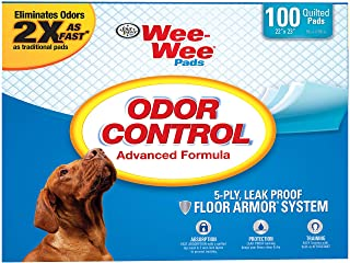 Four Paws Wee-Wee Odor Control Pads - 100 Count 100516271