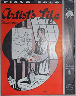 Artist's Life Piano Solo (Sheet Music) (Moderne Edition)