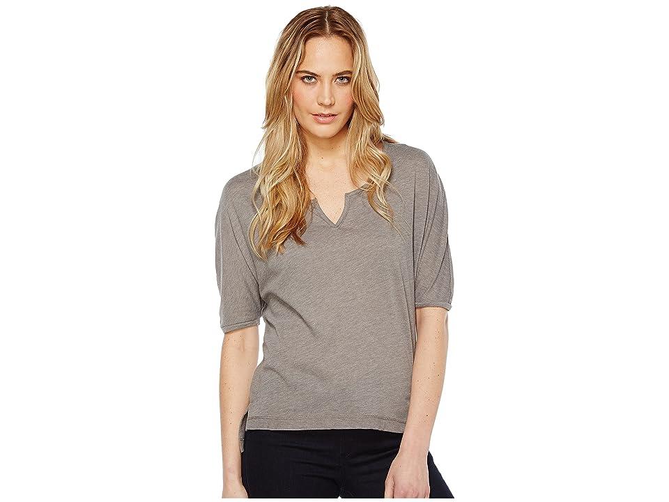 Alternative Eco Gauze Roam Short Sleeve Tee (Grey Storm) Women
