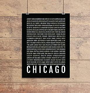 chicago subway sign art