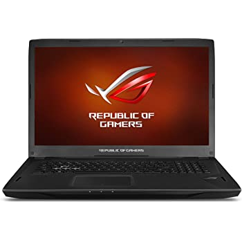 "ASUS ROG Strix G-SYNC 120 Hz Full HD VR Ready Ultra Thin and Light Gaming Laptop Computer GeForce GTX 1070 8GB Core i7-7700HQ, 16GB DDR4 DRAM, 128GB SSD, 1TB HDD, 15.6"", Black - GL502VS-DS71"