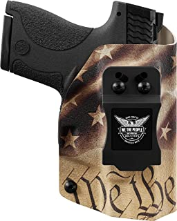 We The People - Constitution - Inside Waistband Concealed Carry - IWB Kydex Holster - Adjustable Ride/Cant/Retention