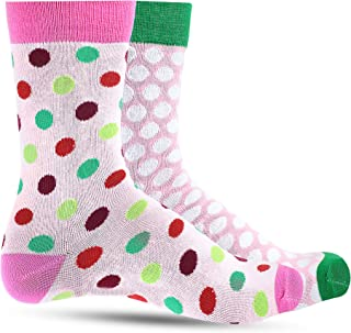Christmas Socks For Women: Ultra Soft Holiday Crew Sock For Ladies & Girls: Womens & Colorful Festive Novelty Stockings