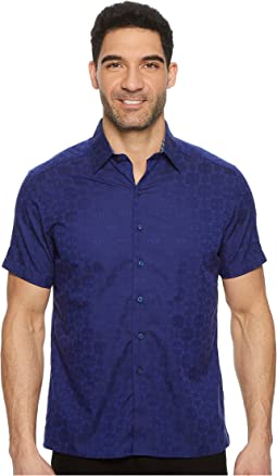 Robert Graham - Cullen Squared Short Sleeve Woven Shirt
