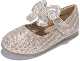 e25ff6bf9 PANDANINJIA Toddler/Little Kid Megan Flower Girl Dress Shoes School Wedding  Party Mary Jane Ballet