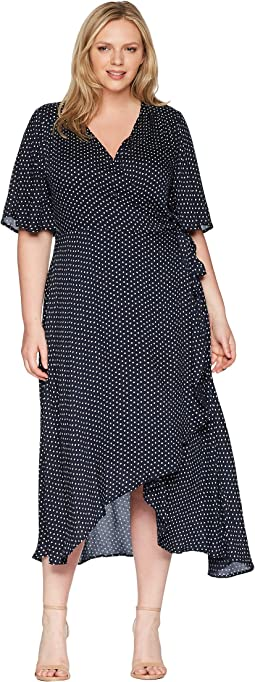 Plus Size Orna Wrap Dress