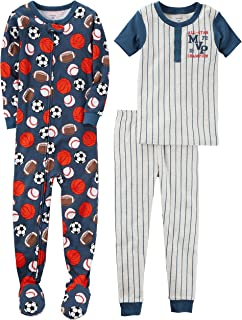 Carter's Boys' 3-Piece Cotton Pajama Set