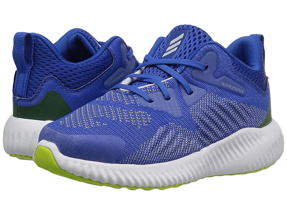 adidas Kids Alphabounce Beyond (Toddler) (Blue/Aero Blue/White) Boys Shoes