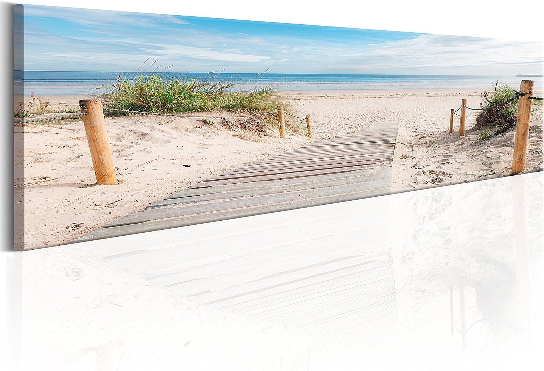 Murando - - - Bilder Strand 172x45 cm Vlies Leinwandbild 1 TLG Kunstdruck modern Wandbilder XXL Wanddekoration Design Wand Bild - Meer Natur Landschaft c-B-0150-b-a B01LX8O7UB a6e8a0