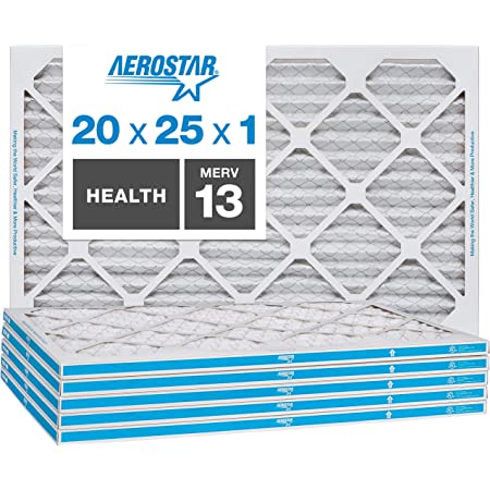 Nordic Pure 20x22x1 Exact MERV 11 Pleated AC Furnace Air Filters 6 Pack