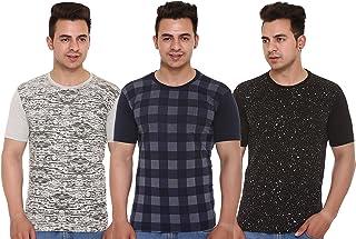 SHAUN Men's Regular Fit T-Shirt (Pack of 3)