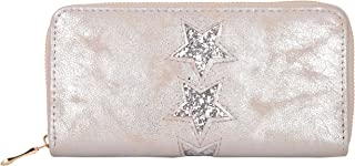 Women Wallet Fashion Girl Chic Party Star Style Purse SILVER