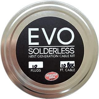 Disaster Area Designs EVO Solderless Cable Kit - Purple, 10ft, 10 Plugs