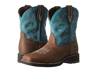 Ariat Shasta H2O (Baked Brown/Turquoise) Cowboy Boots