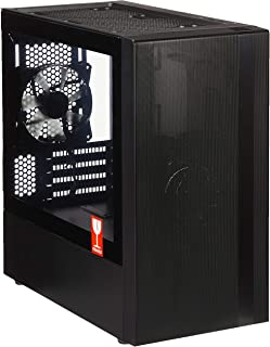 Cooler Master MasterBox NR400 Micro-ATX Case with Tempered Glass Side Panel - Black - MCB-NR400-KGNN-S00