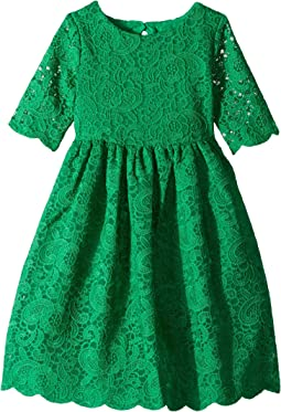 Lace Open Back Dress (Toddler/Little Kids/Big Kids)