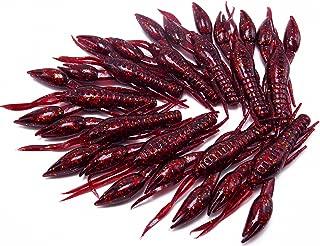 CATCHSIF 10pcs 3inch Lifelike Crawfish Soft baits Fishing Lure
