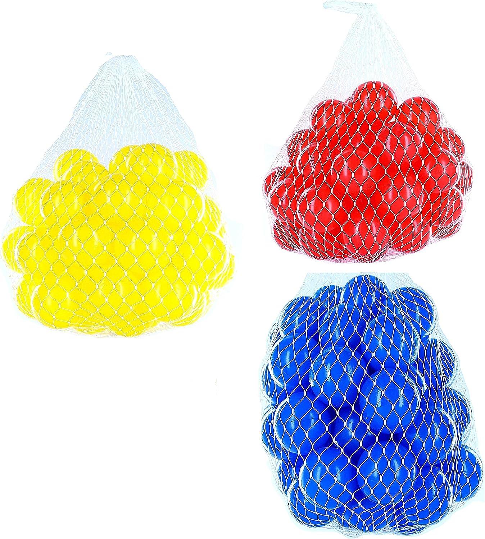 Ahorre 60% de descuento y envío rápido a todo el mundo. Pelotas para pelotas pelotas pelotas baño variadas Mix con azul, rojo y amarillo Talla 6000 Stück  directo de fábrica