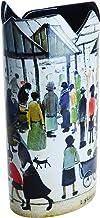 """John Beswick Art Silhouette D'Lowry markt Scene""""Vaas"""